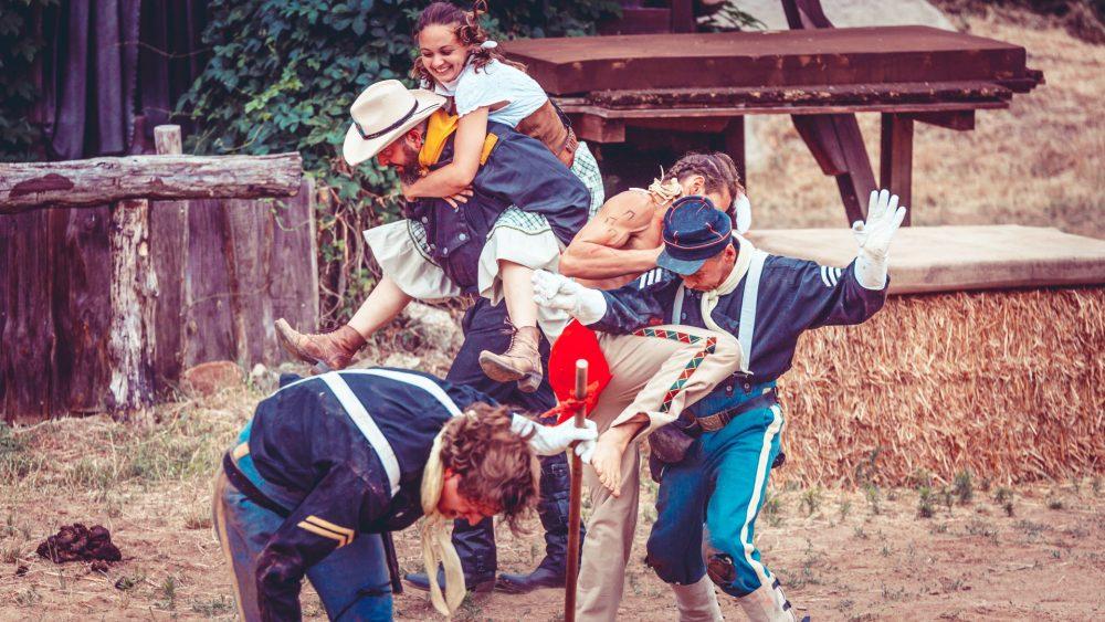 Große Western Stuntshow auf der El Dorado Ranch – Part I
