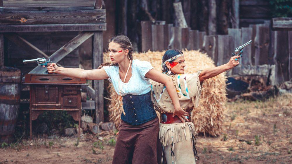 Große Western Stuntshow auf der El Dorado Ranch – Part II